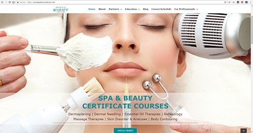 esthetician courses beauty certifications