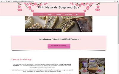 Pirin Natural Handmade Soap