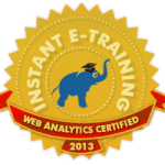 web analytics certified