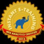 web analytics certified