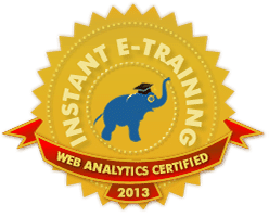 Web Analytics Certfied