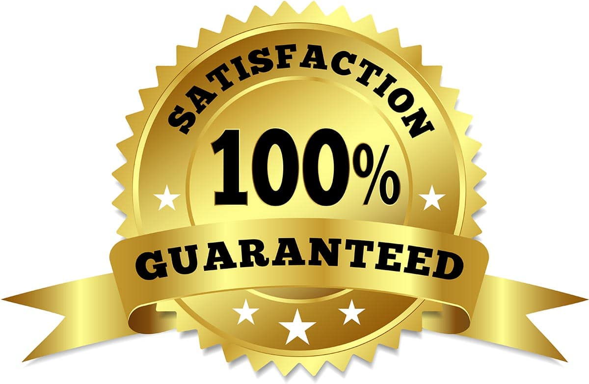 Website Satisfaction Guaranteed