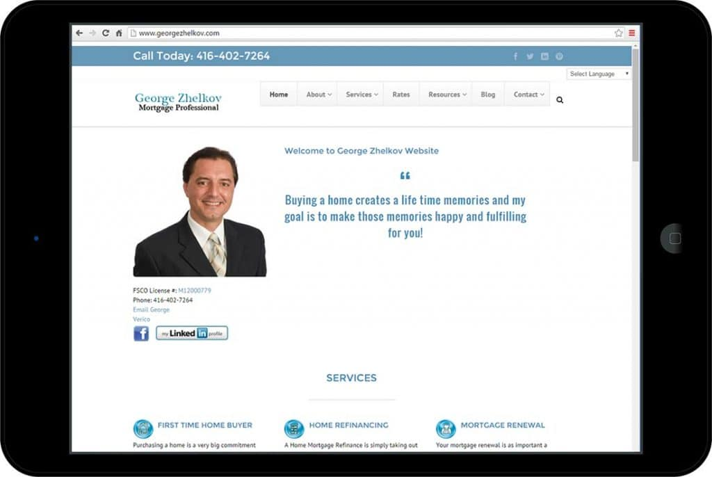 George Zhelkov Mortgage Professional