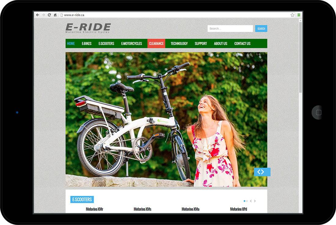 E-Ride Electric Scooters & Bicycles