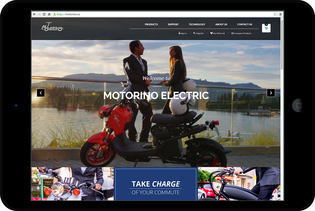 Motorino Electric Scooters & Bicycles