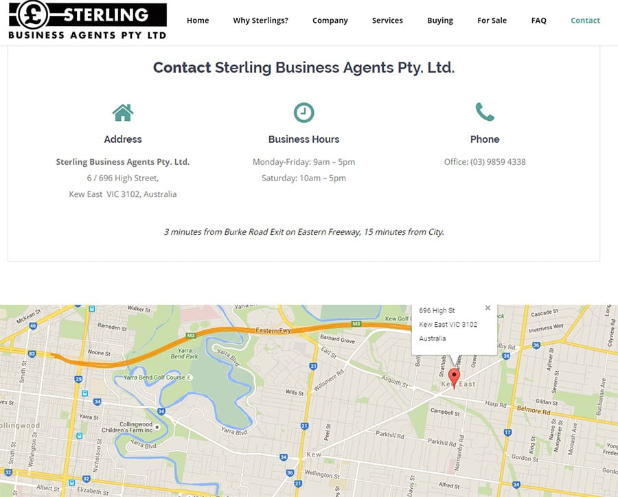 Sterling Business Agents Pty. Ltd.