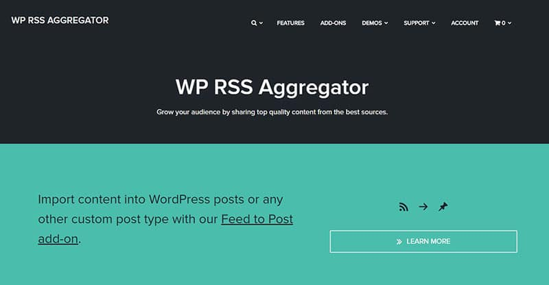 WP RSS Agregator