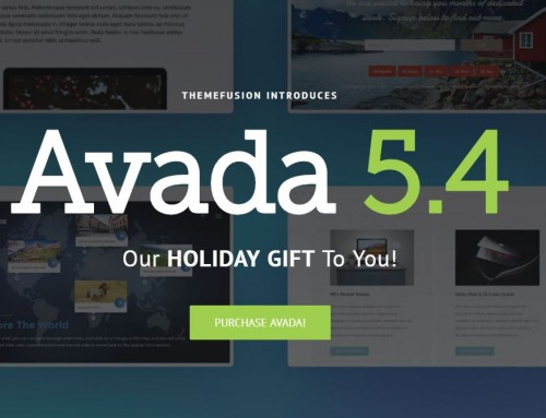 Avada 5.4 – More Value For You!