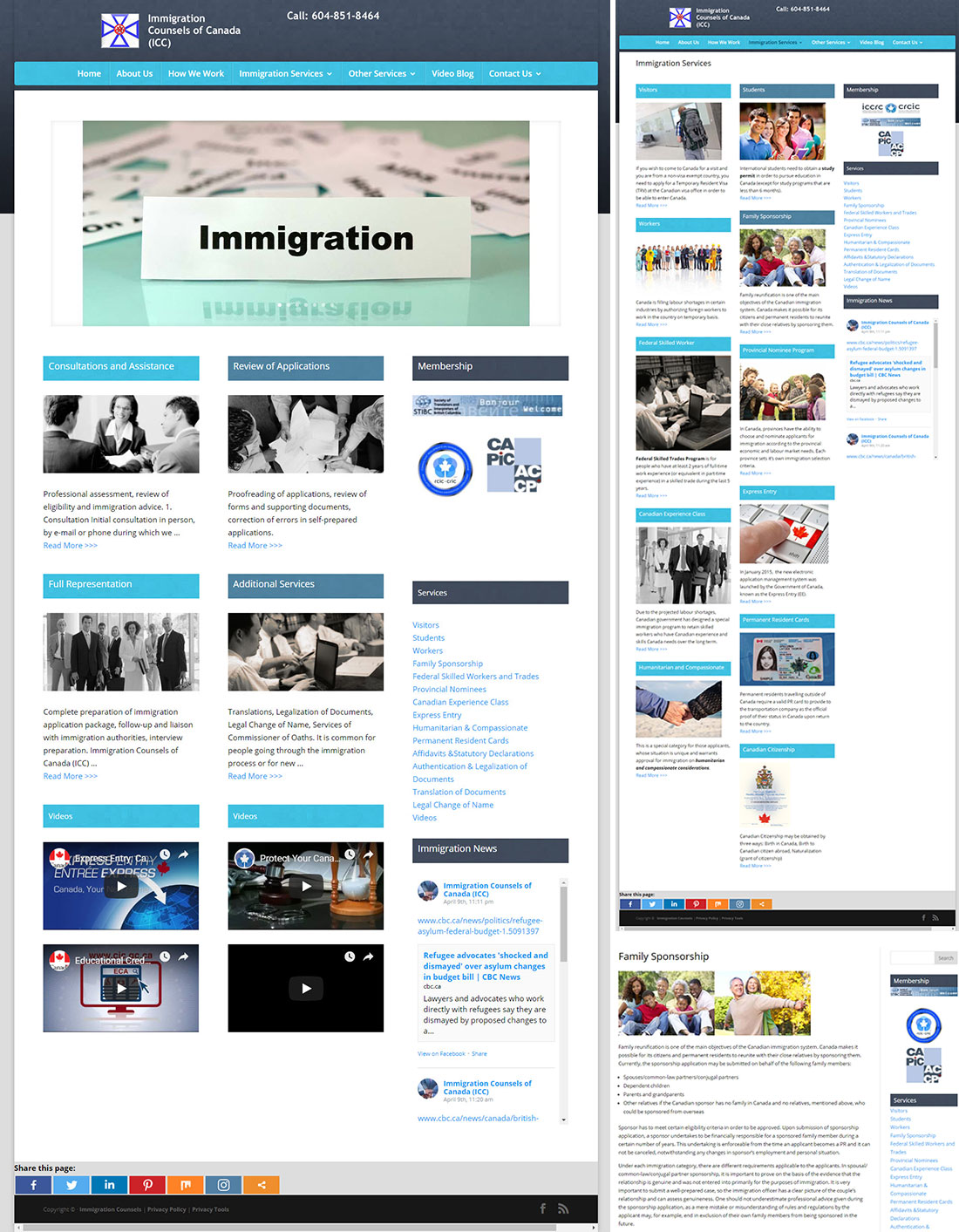 immigration showcase