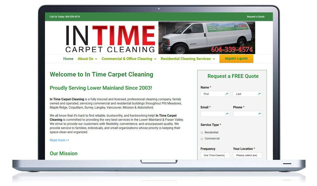 In Time Carpet Cleaning